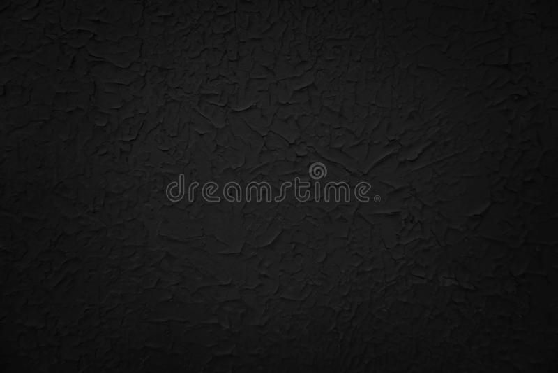Czarny farby tło, popielata rocznik tekstura zdjęcie royalty free