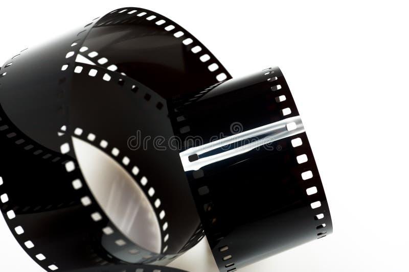 czarny filmu odosobniona fotografia obrazy stock