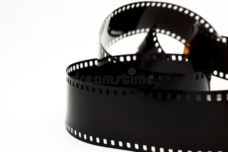 czarny filmu odosobniona fotografia obraz royalty free