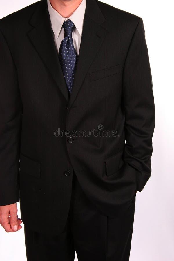 czarny garnitur zdjęcia royalty free