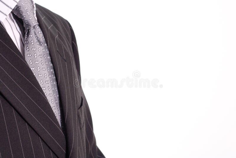 czarny garnitur obraz royalty free