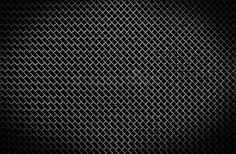 czarny grilla metalu tekstura zdjęcia royalty free