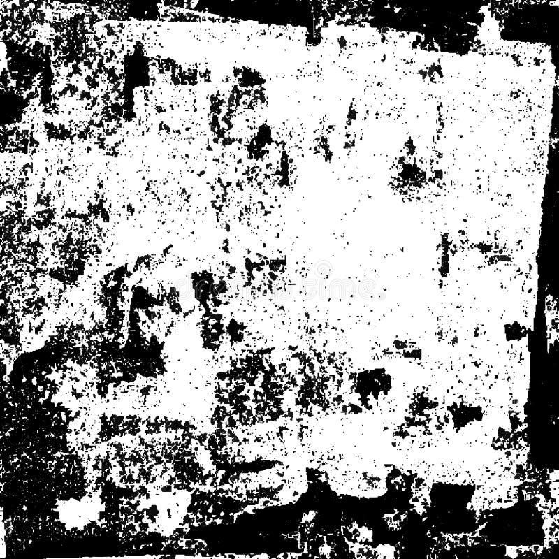 Czarny grunge wektoru tło ilustracja wektor