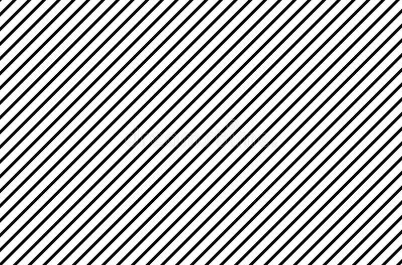 Czarny i biały linia wzór na tle royalty ilustracja