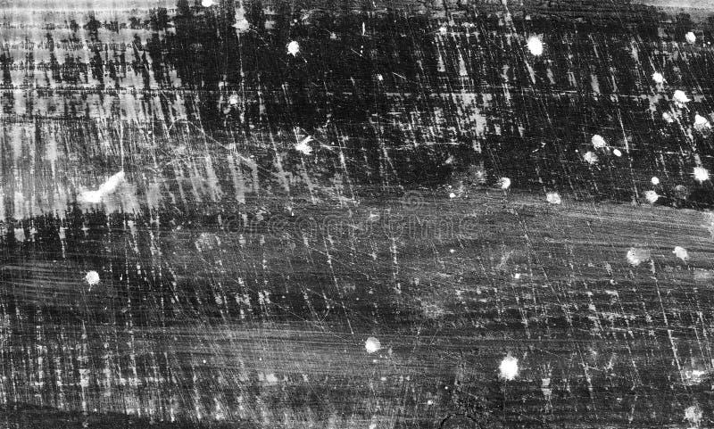 Czarny i biały tło z drewnianą teksturą Stary podławy tło obrazy stock