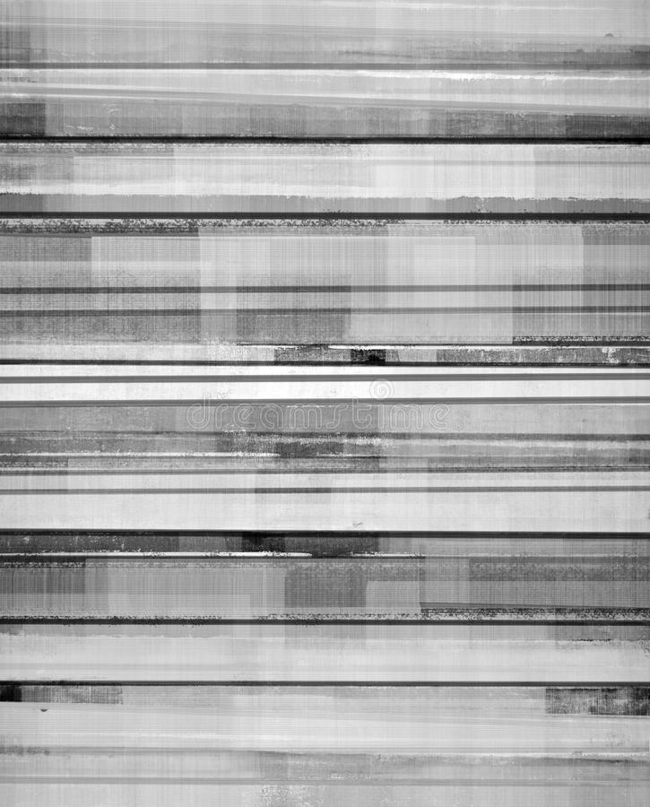 Czarny I Biały Abstrakcjonistycznej sztuki tło ilustracji