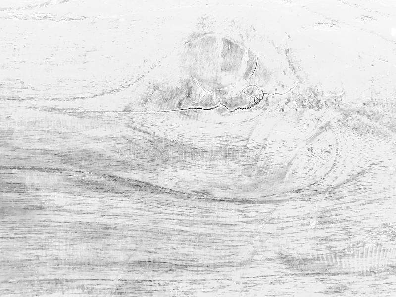 Czarny i biały drewniana tekstura obraz royalty free