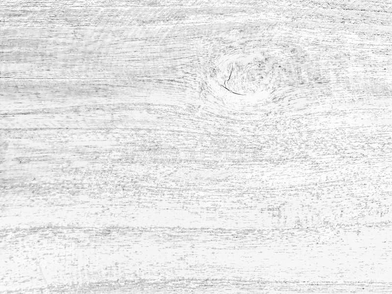 Czarny i biały drewniana tekstura zdjęcie stock