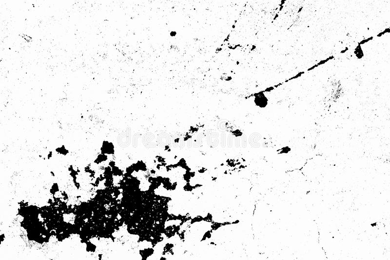 Czarny i biały grunge miastowa tekstura z kopii przestrzenią Abstrakt S royalty ilustracja