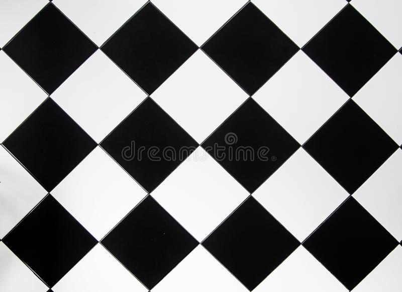 Czarny i biały płytka dla tła obraz royalty free