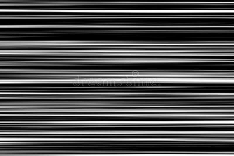 Czarny i biały tła realistyczny migotanie, analogowy rocznika TV sygnał z złą interferencją, statyczny hałasu tło ilustracja wektor