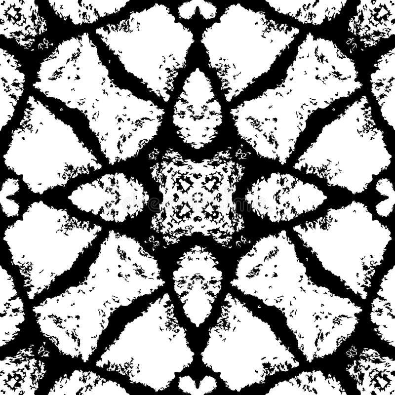 Czarny i biały tło dla dekoracyjnego projekta obraz royalty free