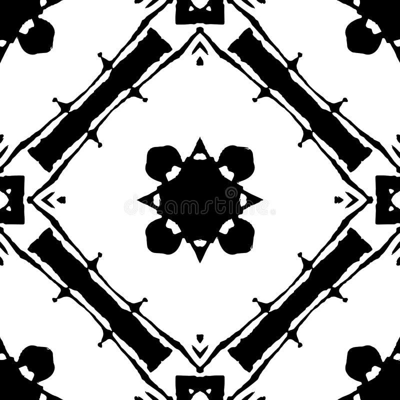 Czarny i biały tło dla dekoracyjnego projekta fotografia royalty free