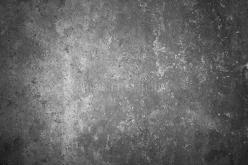Czarny i biały tekstura betonowa ściana zdjęcia royalty free