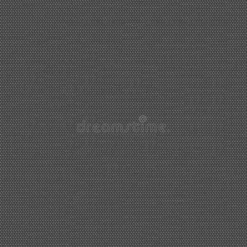 Czarny i biały tkaniny bezszwowa tekstura Tekstury mapa dla 3d i 2d zdjęcie stock