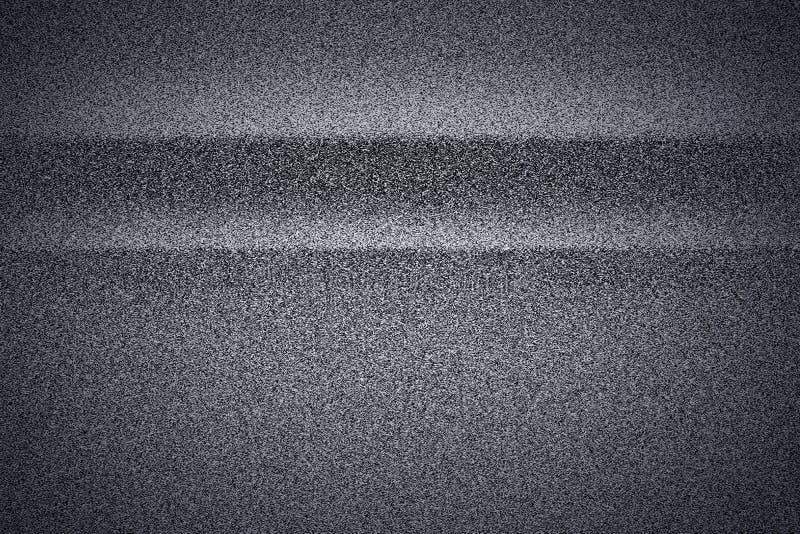 Czarny i biały TV ekranu hałas ilustracji