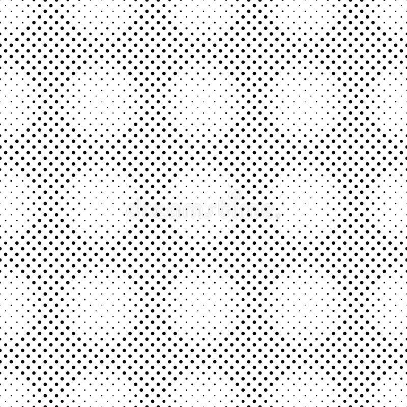 Czarny i bia?y abstrakcjonistyczny geometrical kropka wzoru t?o ilustracji
