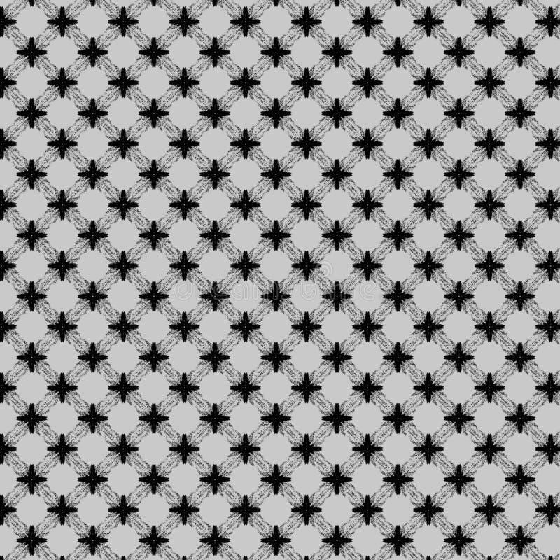 czarny i popielaty abstrakta wzór ilustracja wektor
