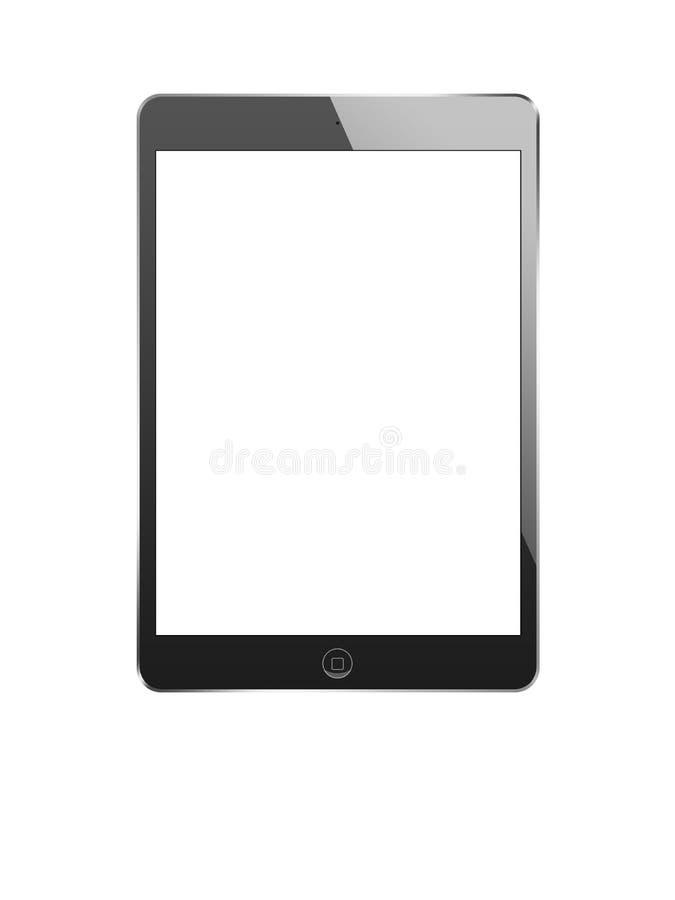 Czarny ipad mini fotografia stock