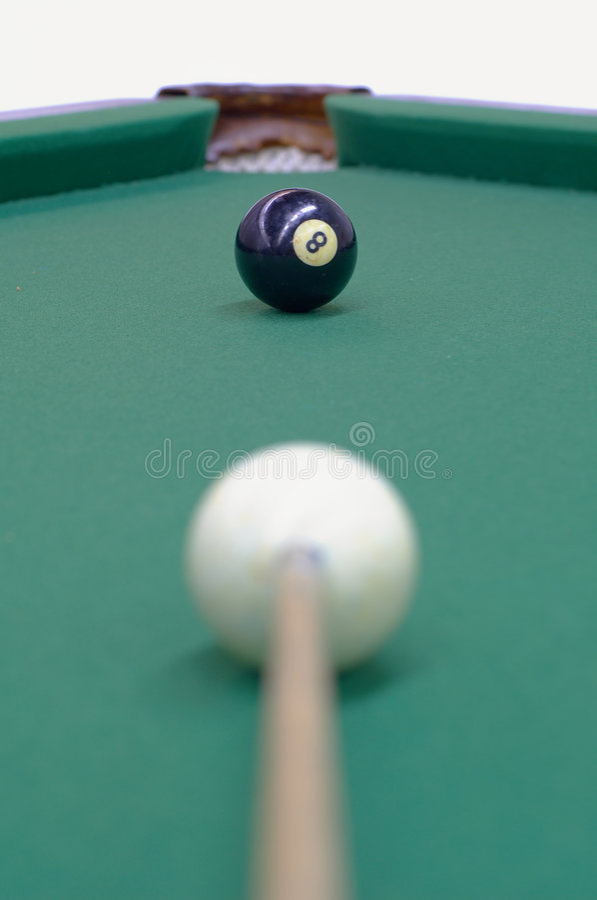 czarny jest celująca piłka zdjęcie royalty free