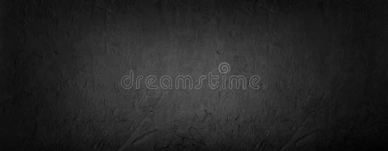 Czarny kamienny tło, siwieje cementową teksturę Odgórny widok, mieszkanie nieatutowy zdjęcie stock