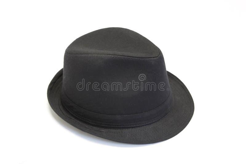 czarny kapelusz obrazy stock