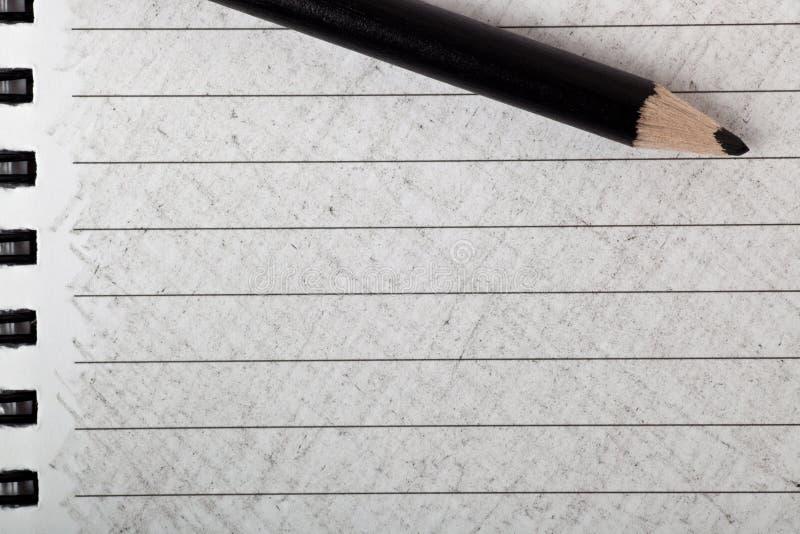 czarny koloru kolorystyki ołówek zdjęcia stock