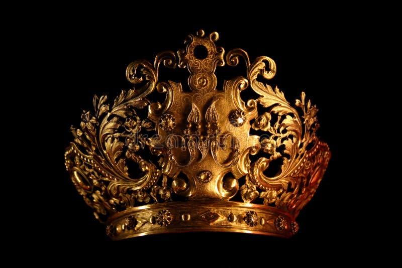 czarny korona zdjęcia stock