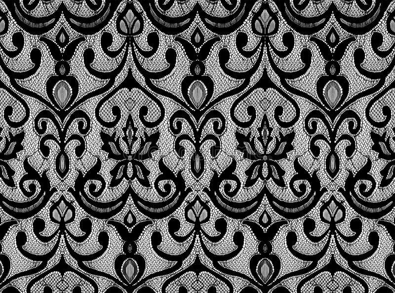 czarny koronka obrazy stock