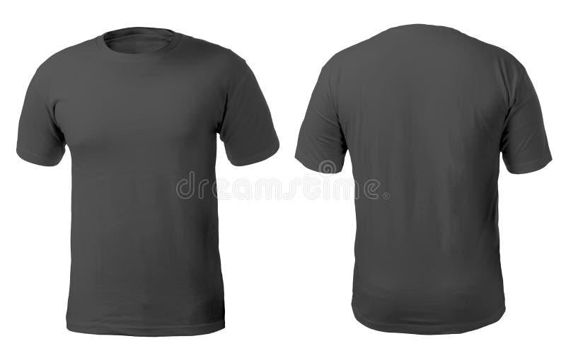 Czarny Koszulowy projekta szablon zdjęcie stock