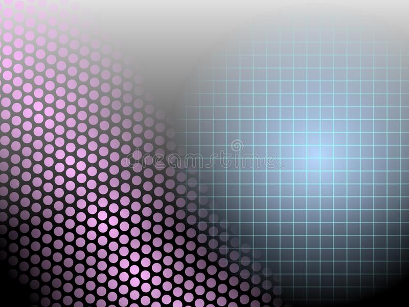 czarny kropki gradientowa siatki matryca ilustracja wektor