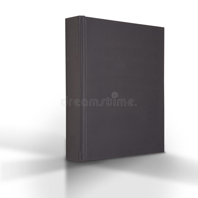 czarny książka fotografia stock