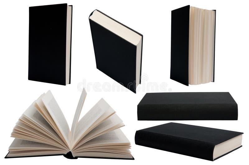 czarny książka zdjęcie stock
