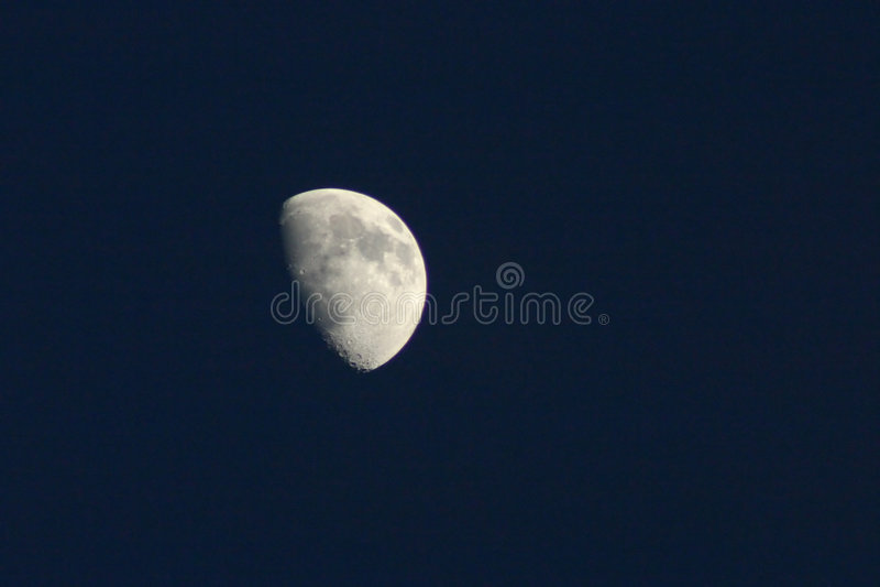czarny księżyc niebo zdjęcie stock