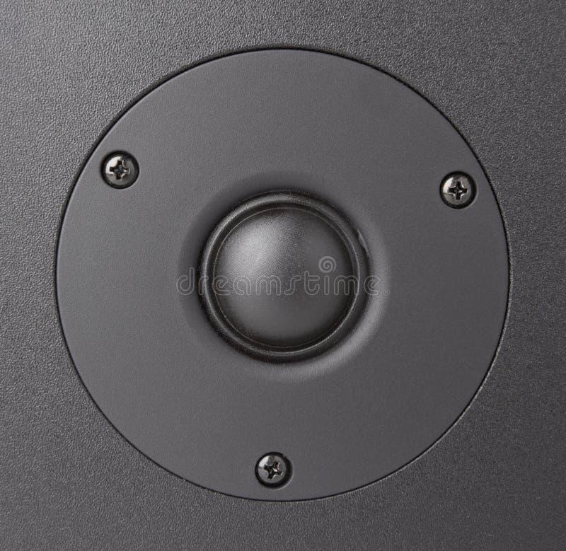 Download Czarny mówca zdjęcie stock. Obraz złożonej z metal, słucha - 13338762