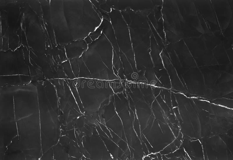 Czarny marmurowy tło z natury białą linią deseniuje abstrakcjonistycznego tekstury tło zdjęcie stock