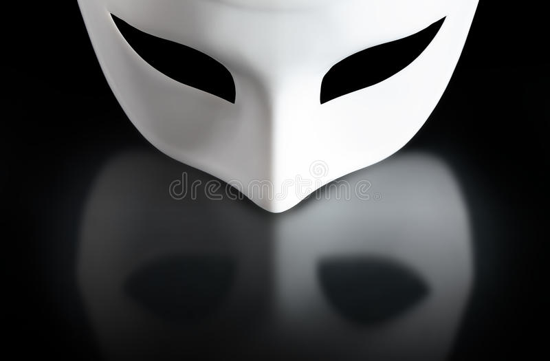 czarny maska fotografia royalty free