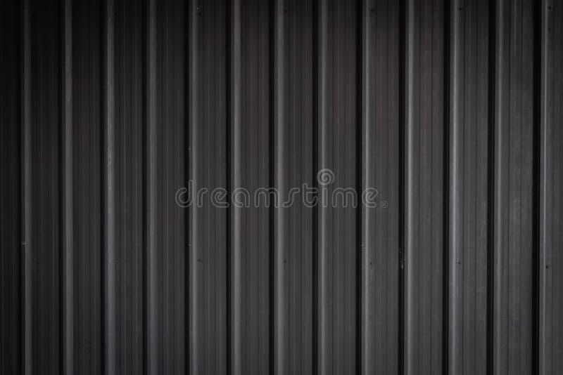 Czarny metalu prześcieradła tło i wzór zdjęcia royalty free