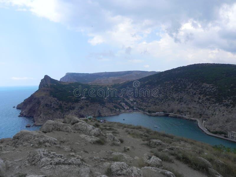 Czarny morze Balaklava zdjęcie stock