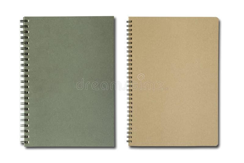 czarny notatnik obraz stock