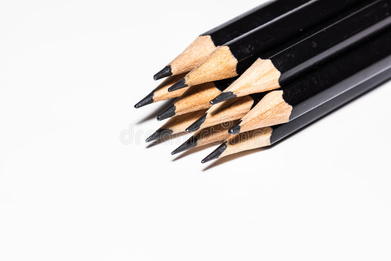 Czarny ołówek zdjęcia stock