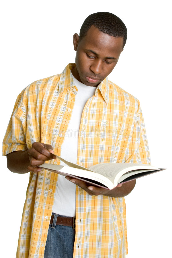 czarny odczyt ucznia zdjęcia stock