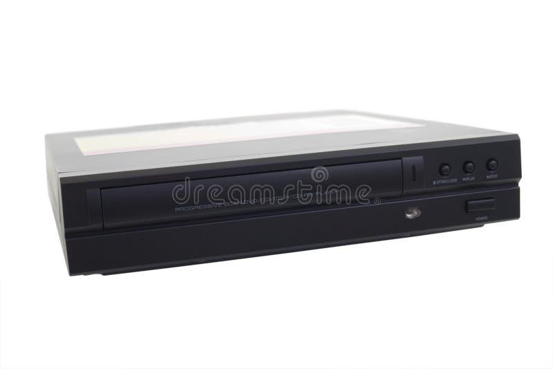 czarny odtwarzac dvd fotografia stock