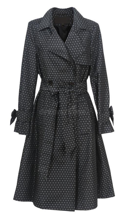 czarny płaszcz zdjęcie royalty free