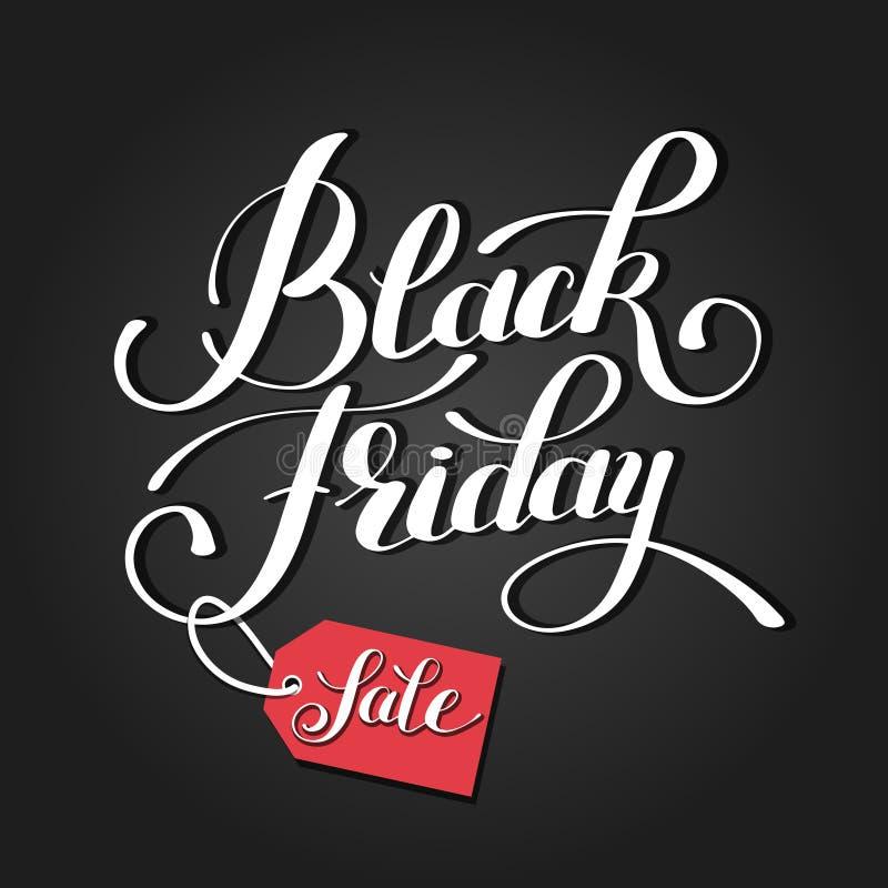 Czarny Piątku projekt, sprzedaż, rabat, reklama, wprowadzać na rynek pric ilustracja wektor