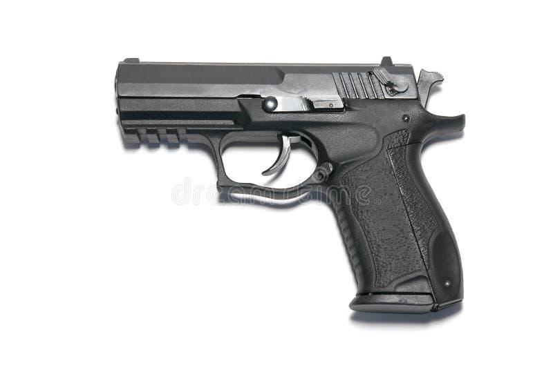 czarny pistolet obrazy royalty free