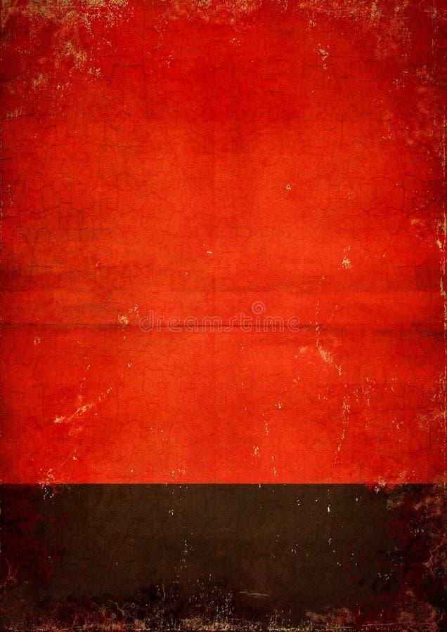 czarny plakatowa czerwień obrazy royalty free