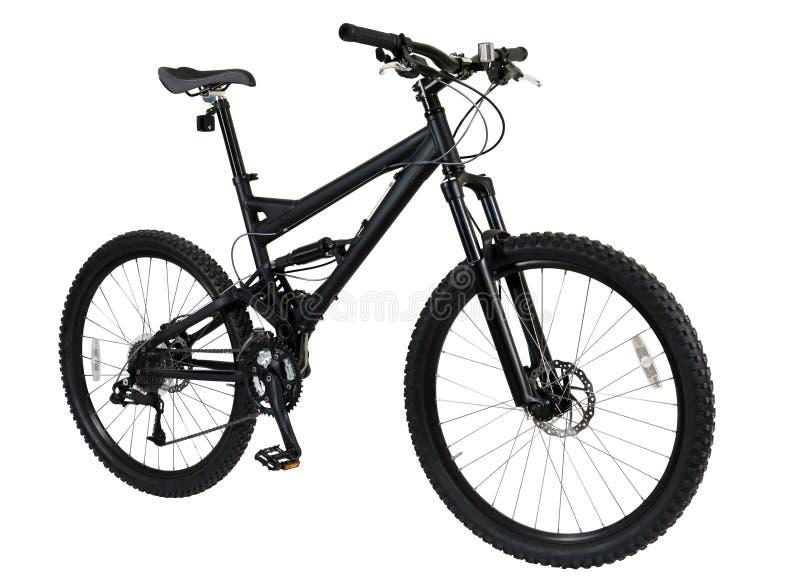czarny rower fotografia royalty free