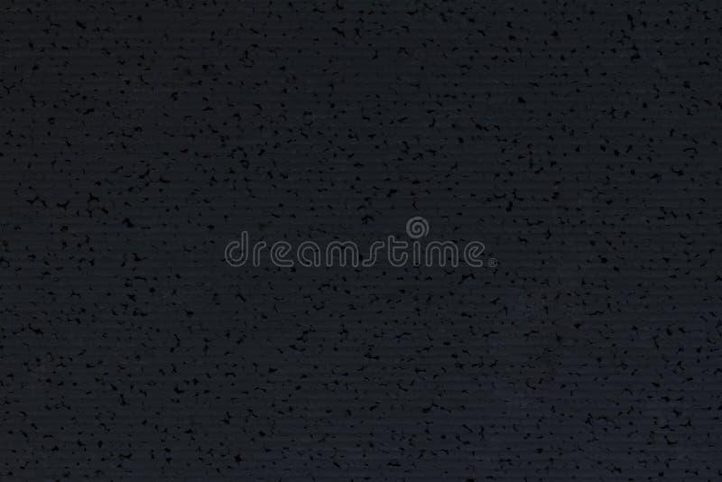 Czarny styrofoam z deseniową tło teksturą, zmrok piankowe śliwki zdjęcia stock