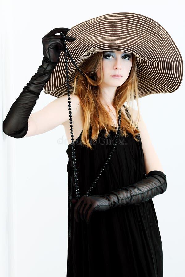 czarny suknia zdjęcia royalty free